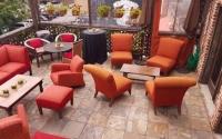 Patio Oragne Chairs (002)