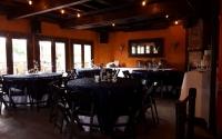 Seated Dinner Black & White Decor