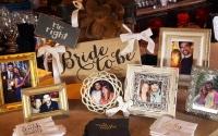 Bride Groom Photo Display