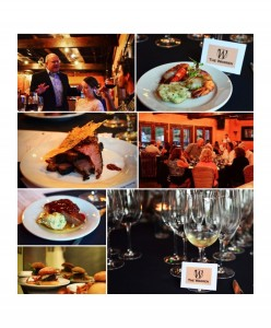 Wine Dinner Collage