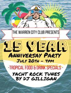 The Warren City Club celebrates 15 years